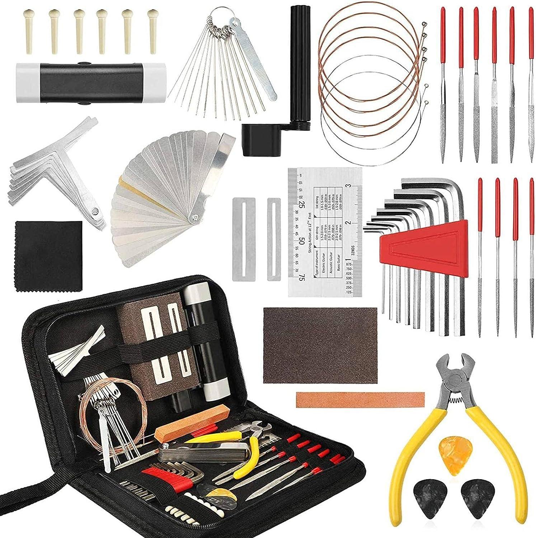 N\C Guitar Tool Kit New item Maintenance 54-Piece and Arlington Mall Repair