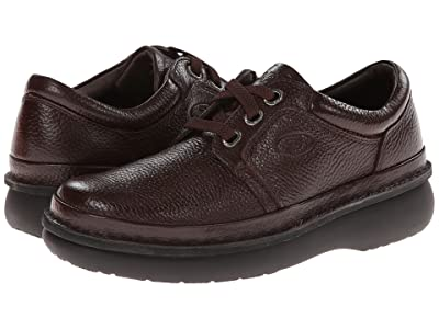 Propet Village Walker Medicare/HCPCS Code = A5500 Diabetic Shoe (Brown Grain) Men