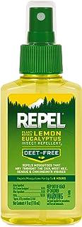 REPEL Plant-Based Lemon Eucalyptus Insect Repellent, Pump...