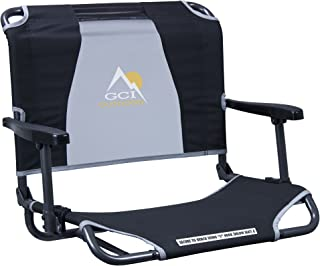 GCI Outdoor Big Comfort Wide Stadium Bleacher Seat with Back and Armrests