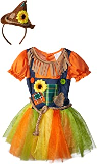 Toddler Girls Sweet Scarecrow Halloween Costume