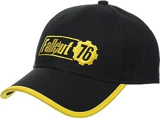 Fallout 76 Baseball Cap Yellow Logo Berretti Cappelli