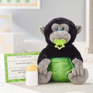 Melissa&Doug 40451 Baby Gorilla Stuffed Animal   Soft Toy   All Ages   Gift for Boy or Girl