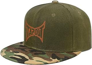XIAOWUGO Camo Hip-hop Hat Succulents Unisex Camouflage Snapback Baseball Caps