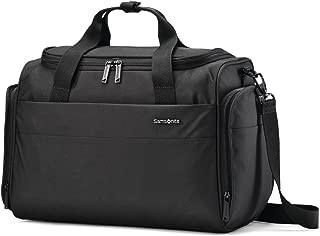 Samsonite Flexis Travel Duffel Bag Overnight, Jet Black, One Size