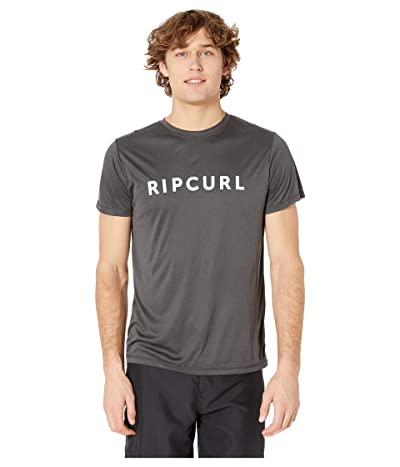 Rip Curl Blade Surflite Short Sleeve UV (Black/Maroon) Men