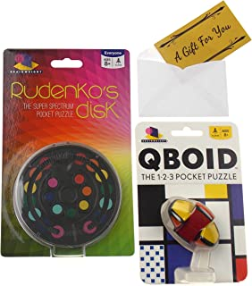Rudenko's Disk & Qboid Puzzle Game Bundle with a Gift Card