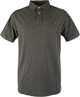 Men's Big and Tall Mesh Polo Shirt