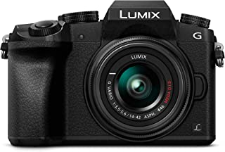 Panasonic Lumix DMC-G7 - Kit Cámara Digital DE 16 MP y Objetivo Standard Zoom LUMIX G Vario 14-42 mm Color Negro [versión importada]