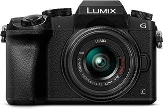 Panasonic Lumix DMC-G7 - Kit Cámara Digital DE 16 MP y Objetivo Standard Zoom LUMIX G Vario 14-42 mm, Color Negro, [versión importada]