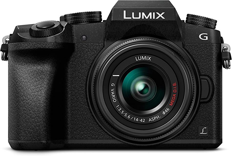 Panasonic Lumix DMC-G7 - Kit Cámara Digital DE 16 MP y Objetivo Standard Zoom LUMIX G Vario 14-42 mm Color Negro [versión importada]