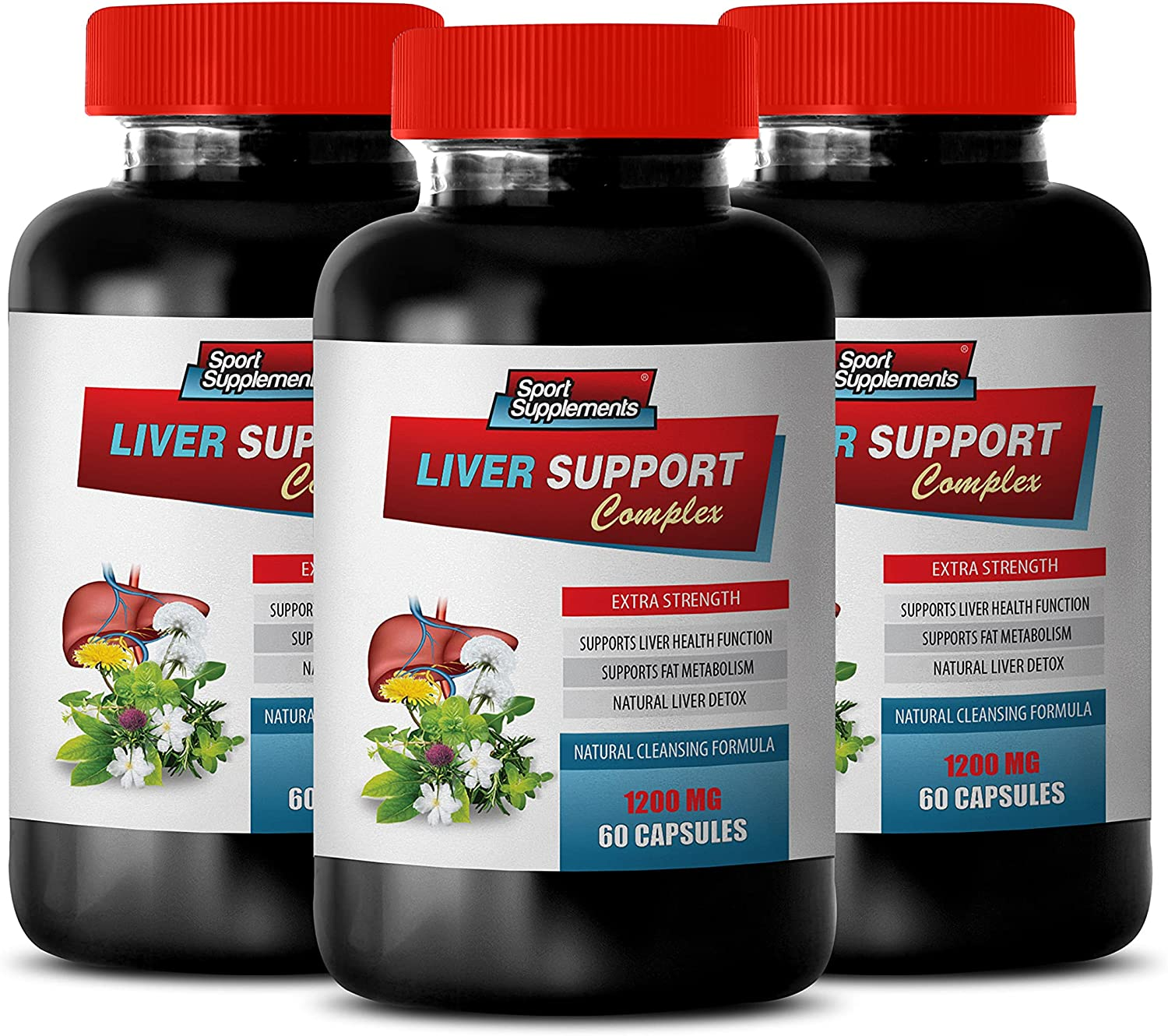 Kidney Pills for Humans - Portland Mall Max 67% OFF Liver 1200 Support Complex Extra MG