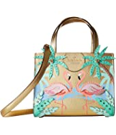 Kate Spade New York - By The Pool Flamingo Scene Small Sam