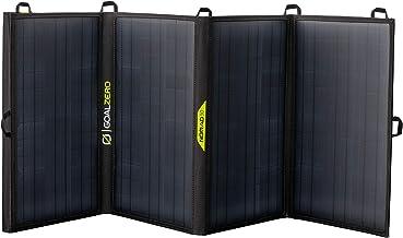 Goal Zero Nomad 50, Foldable Monocrystalline 50 Watt Solar Panel with 8mm + USB Port, Portable Solar Panel Charger for Yeti Power Generator and Banks. Lightweight 18-22V 50W Solar Panel Charger