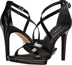 bfdd9a8c6e1f Your Selections. Shoes · Sandals · Women. Black Linear Patent. 63. Calvin  Klein