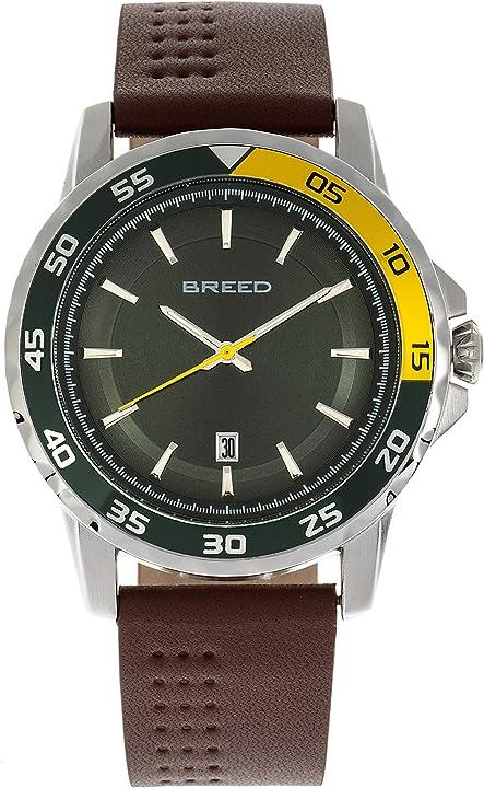 Orologio breed revolution - orologio in pelle con data BRD8305