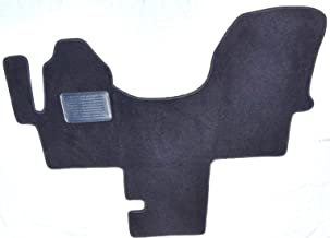 Avery's Floor Mats Part Compatible with Mercedes Benz Sprinter Van 1 Piece Cab Front Carpet Floor Mat Black with Heel Pad - Fits 2010-2018 Without H00 Code