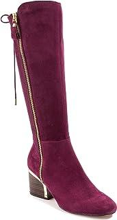 6c912996acf Amazon.com  Purple - Knee-High   Boots  Clothing