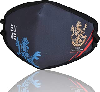 EUME Protect+ 95 (IPL-Royal Challengers Bangalore Face Mask) Reusable and Washable pack of 1 Navy Blue