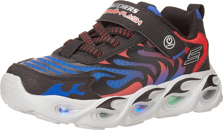 Skechers Unisex-Child price S Lighs Sport Lighted Max 51% OFF Sneaker Boys
