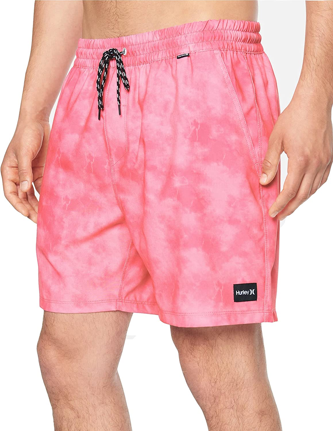 Hurley Men's Paradise Time sale Volley in. Rapid rise 17 Boardshorts
