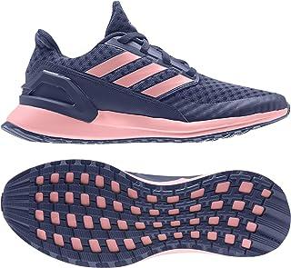 adidas RapidaRun J Indigo Synthetic Junior Trainers Shoes