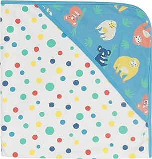 Piccalilly Blue Denim Chambray Latzhose f/ür Babys und Kleinkinder Stickerei-Details mit Eulenmotiv Bio-Baumwolle