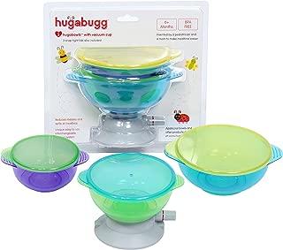 Hugabugg Hugabowls with Vacuum Suction Cup