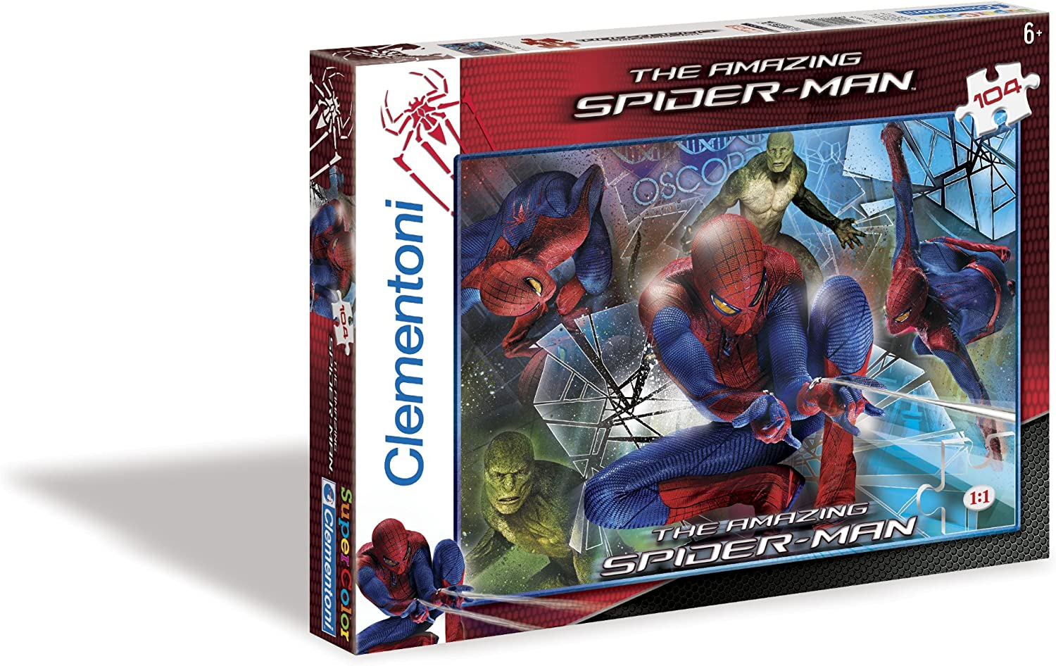 The Amazing Spiderman A greater Good (104 Pieces)