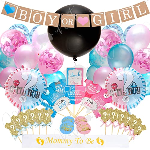 Pink And Blue Baby Shower Decorations Amazon Com