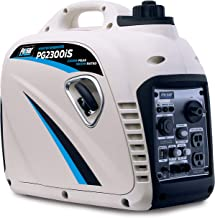 Pulsar PG2300iS Portable Gas-Powered Quiet Inverter Generator with Parallel Capability & USB 2,300W