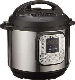 Instant Pot Duo 7-in1 Electric Pressure Cooker, Yogurt Maker Cups x5 with pressure sterilization rack