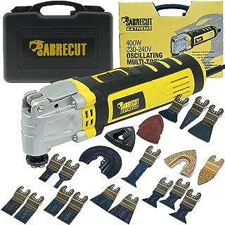 comprar comparacion SabreCut SCMTK400EU 400W Multiherramienta oscilante con 39 accesorios mixtos incluidos (enchufe de la UE)