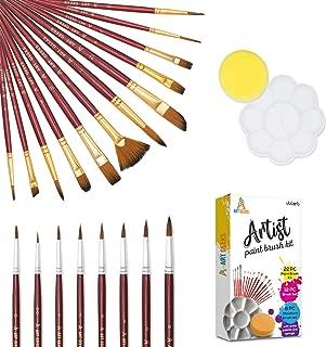 Best acrylic paintbrush set Reviews