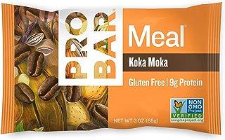 PROBAR - Meal Bar, Koka Moka, 3 Oz, 12 Count - Plant-Based Whole Food Ingredients