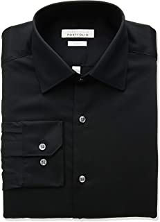 Perry Ellis Men's Slim Fit Wrinkle Free Dress Shirt