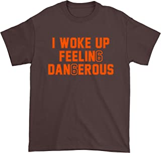 FerociTees I Woke Up Feeling Dangerous Mayfield Mens T-Shirt