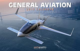 2019 General Aviation Deluxe Wall Calendar