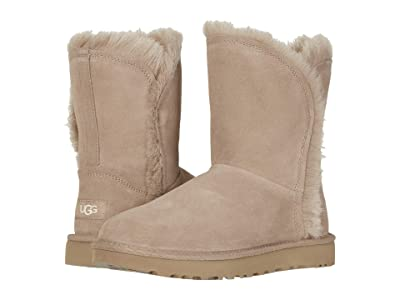 UGG Classic Short Fluff High-Low (Amphora) Women