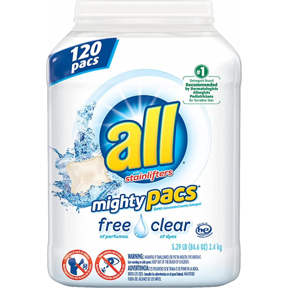All Free & Clear mighty pacs 120 ct