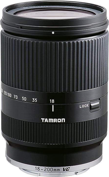 Obiettivo zoom per canon eos-m system, nero tamron af 18 - 200mm f/3.5 - 6.3 di iii vc B011EM