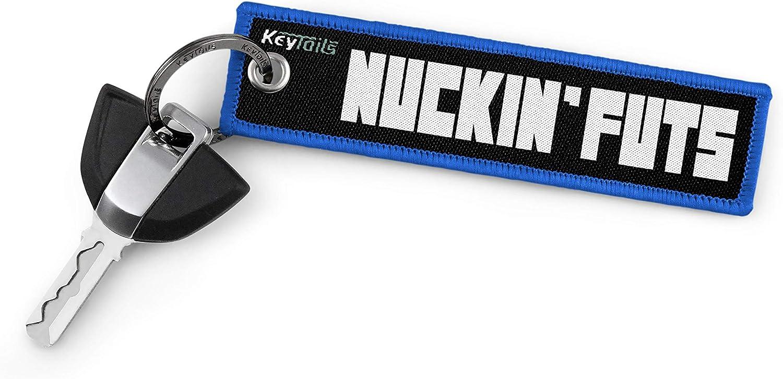 KEYTAILS Keychains Motorcycle ATV Scooters UTV Trucks Premium Quality Key Tag for Cars Sportbike NUCKIN FUTS