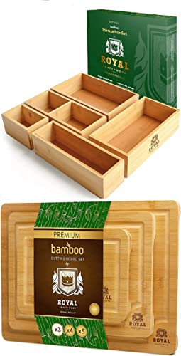 wholesale Storage Box Set of 5 and Cutting Board outlet sale Set popular of 3 online sale