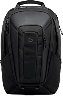Carry+ Professional Laptop Backpack 17 Inch Hard Shell Protection Gaming Computer Bag Cool Looking Water-repellent for Wor...
