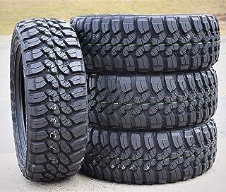 Set of 4 (FOUR) Forceum M/T 08 Plus Mud Radial Tires-LT275/55R20 115/112P LRD 8-Ply