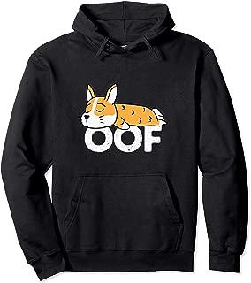 Oof Hoodies for Men Women - Corgi Sweatshirt Gamer Gifts