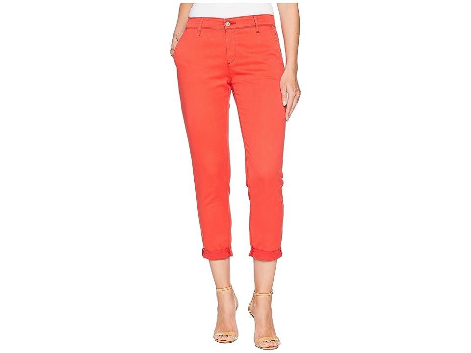 Image of AG Adriano Goldschmied Caden in Red Poppy (Red Poppy) Women's Jeans