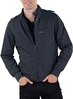 Men's Heavy Twill Iconic Racer Quilted Lining Jacket