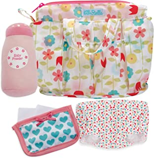 Manhattan Toy Wee Baby Stella Delightful Diaper Bag Baby Doll Accessories Set for 12