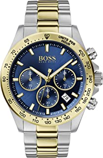 Hugo Boss Mens Quartz Watch, Chronograph Display and Stainless Steel Strap 1513767